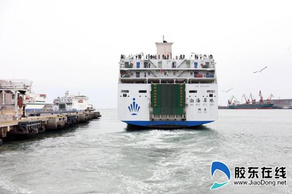 春节黄金周落幕 烟台海域往来旅客近10万人次