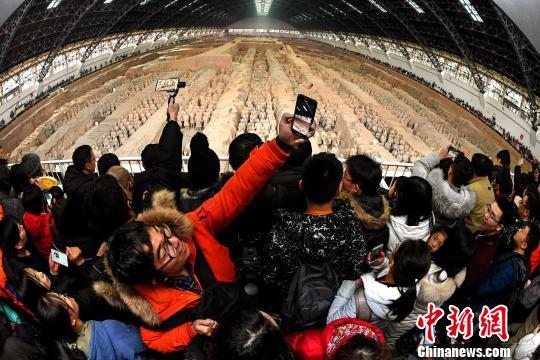 """1196万人次2019年春节走进陕西文博单位""""过大年"""""""