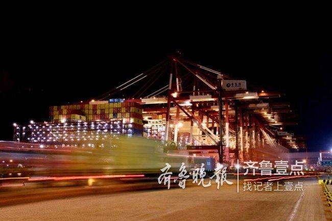 港外过年港内大干 青岛港打造山东对外开放的桥头堡