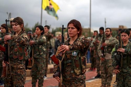 """外媒:叙库尔德武装宣布对IS发起""""最后""""进攻"""
