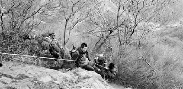 """驴友初六报告有人被困山上 男子获救后称""""年三十上来的"""""""