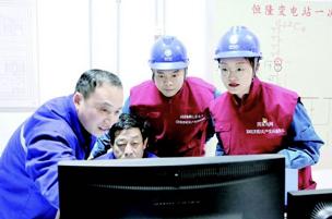 济南供电公司1800多位抢修人员春节坚守一线