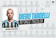 官方:塔尔德利加盟格雷米奥,与球队签约三年