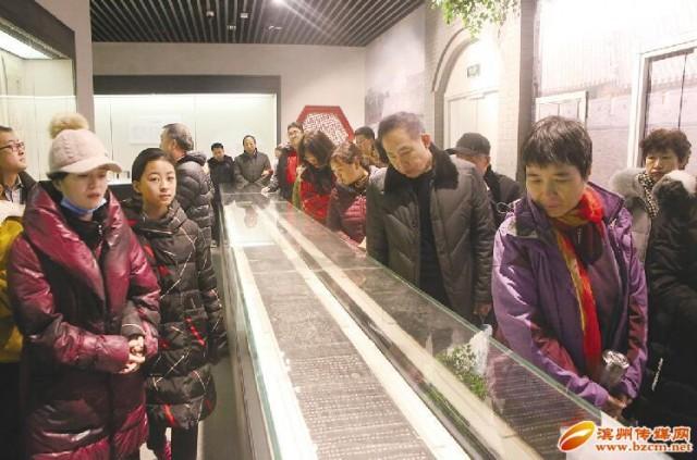 滨州市博物馆成滨州新名片 节后开馆首日迎五千游客
