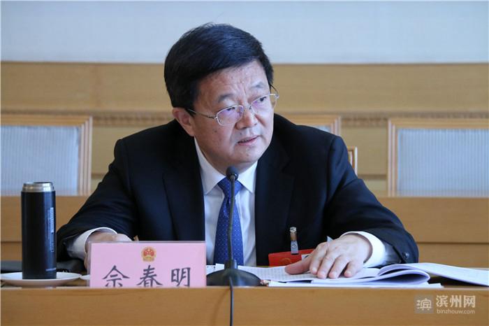 """佘春明在审议省人大常委会和""""两院""""工作报告时说 维护法律权威 为高质量发展保驾护航"""