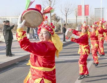 传承与创新:2000多年历史的阳信鼓子秧歌表演盛况空前