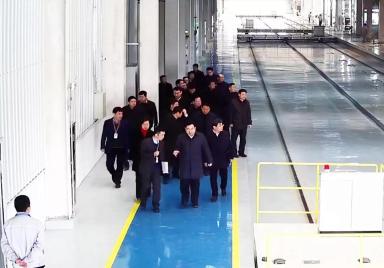 陕西省委书记胡和平一行莅临秦星汽车视察288