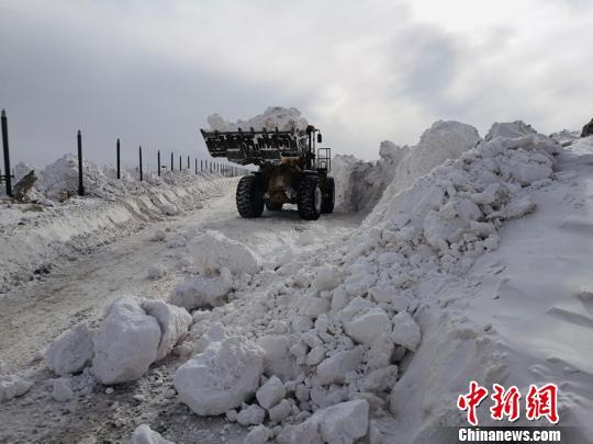 青海启动雪灾Ⅲ级救灾应急响应