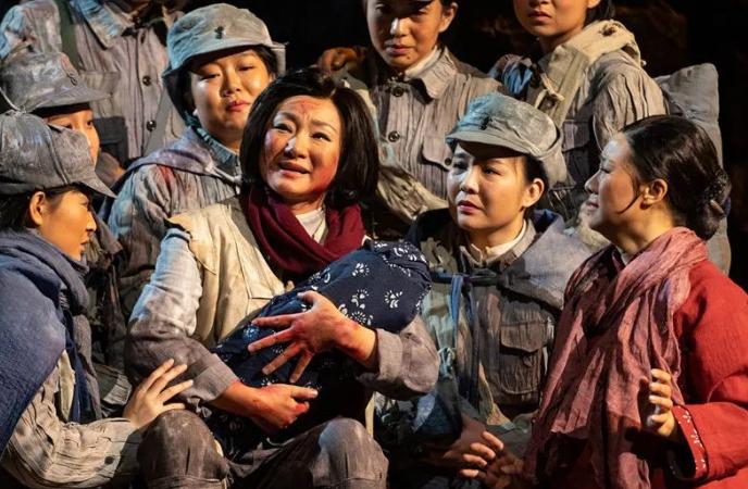 歌剧《沂蒙山》将再登省会大剧院 3月中旬进京展演