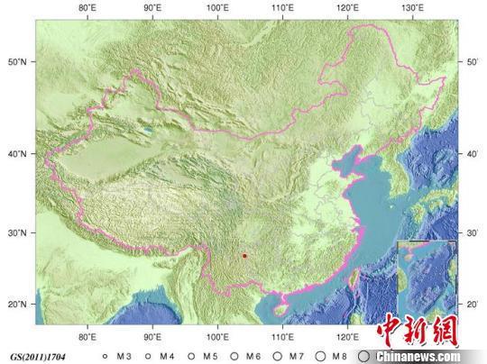 贵州威宁县连续发生2次地震 消防救援集结待命