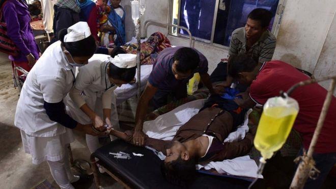 印度东北部再现假酒中毒案 已致至少84人死亡