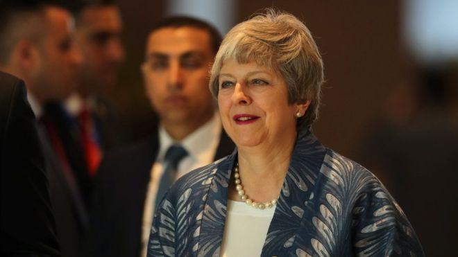 特雷莎·梅:英议会下院将在3月12日做出脱欧终投