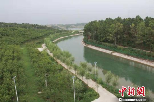 湖北襄阳引丹渠:生命渠变生态渠