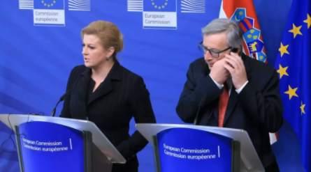 欧委会主席当多措辞时接电话:是我妻子不接她陆续