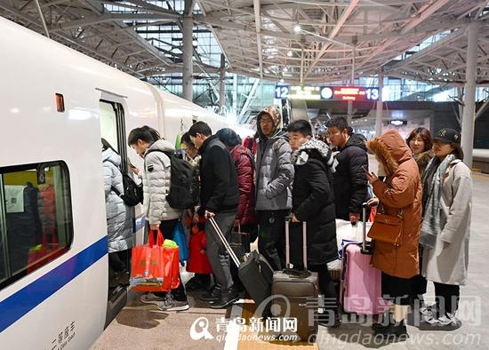 青岛市2019年春运圆满结束 共运送旅客648.4万人次