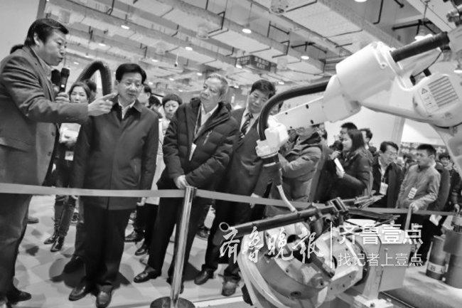 服务世界500强,济南造机器人何以受青睐