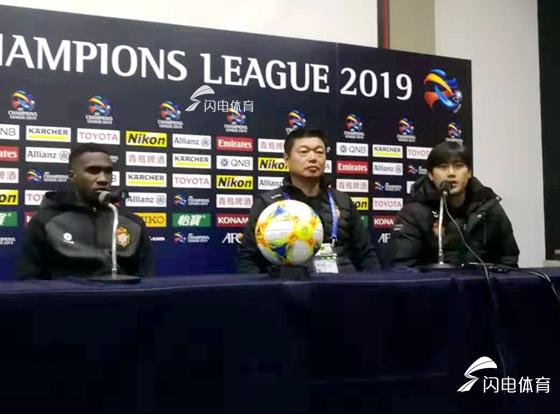 庆南FC主帅:对比赛结果不甚满意 佩莱个人能力确实强