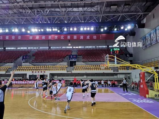 第二届青运会女篮U18俱乐部组预赛 山东青年女篮小组第一晋级