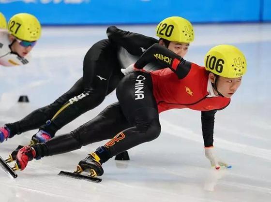 折桂短道速滑1500米 我省安凯拿下大冬会中国代表团首金