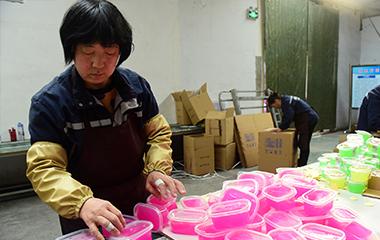 聊城一大姐工坊实现1200多名妇女在家门口就业