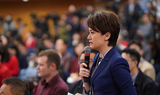 两会现场|闪电新闻记者提问科技部部长王志刚