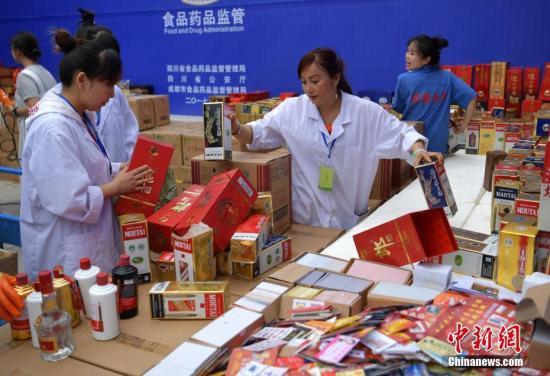 中国六部分宣布屯子冒充伪劣食品十大典范案例