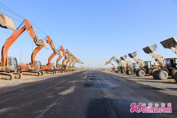 60个亿 !成武县17个重点项目今日开工