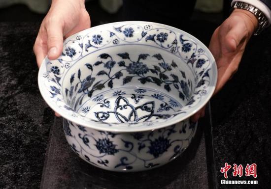 香港苏富比春拍在即 天民楼藏18件明清瓷器亮相(图)