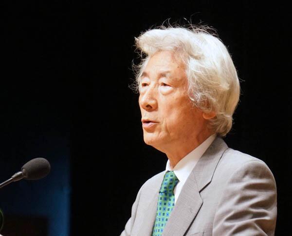 """日本前首相小泉纯一郎呼吁参院选举重点聚焦""""零核电"""""""