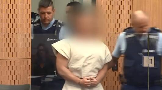 """新西兰枪击案嫌犯下月再出庭 家人称""""他应处死刑"""""""