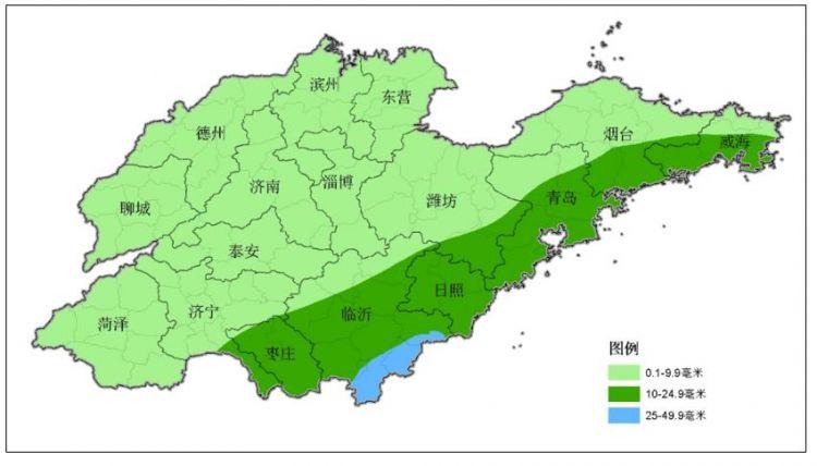 山东将迎大范围降雨 周四冷空气强势回归