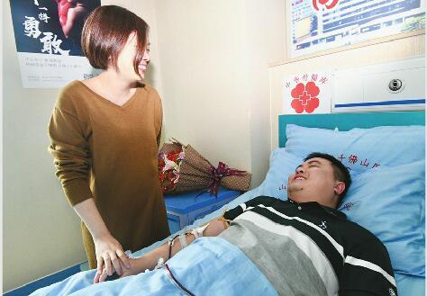 """小伙为新加坡患者捐献造血干细胞:""""能给人生的希望很幸运"""""""