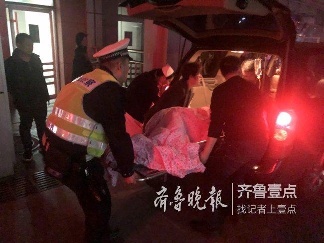 孕妇急性流产先兆,济南天桥交警紧急开道救助