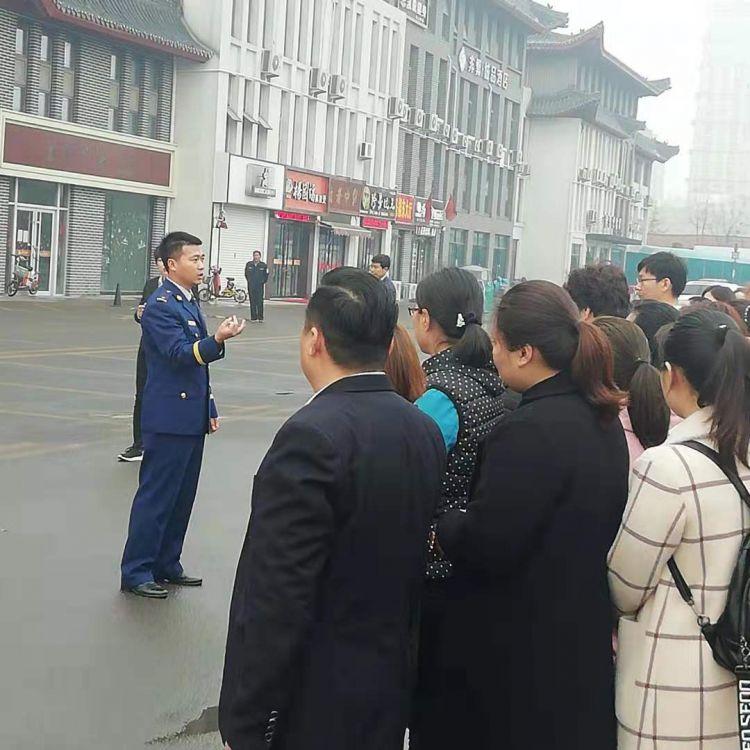 鲁城街道开展人员密集型场所消防疏散灭火演练