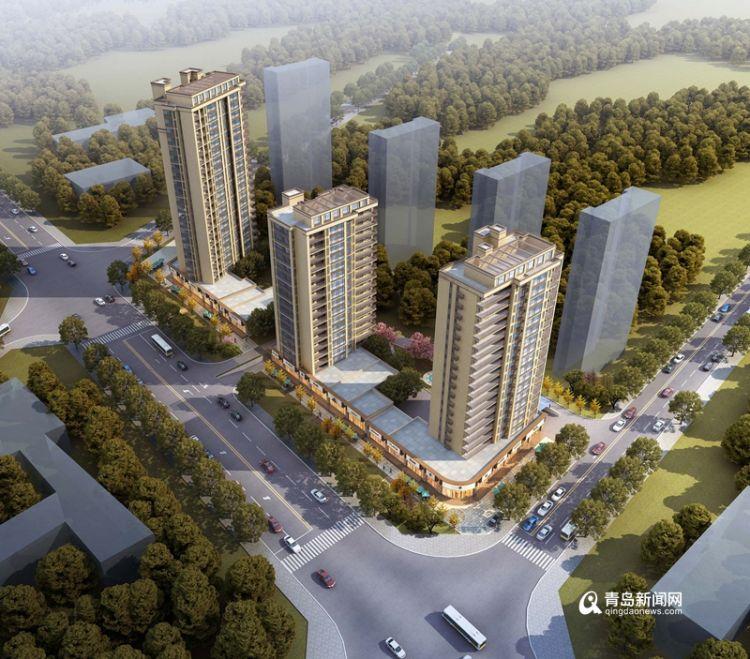 南京路改造项目新规划:3栋住宅配商业网点安置原住户
