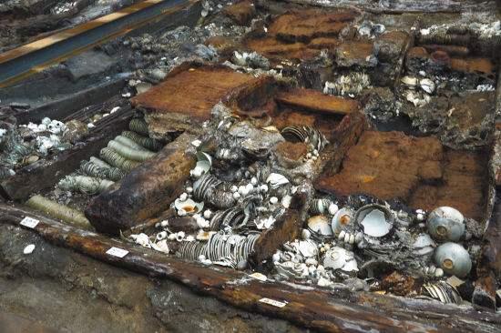 """宋代古沉船""""南海I号""""船货清理基本完成 文物或超16万件"""