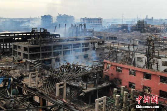 盐城化工厂爆炸事故亲历者:瓦砾中爬出救工友