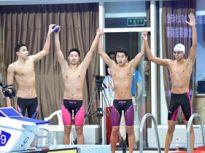 男子4×200米自由泳接力决赛山东队夺冠