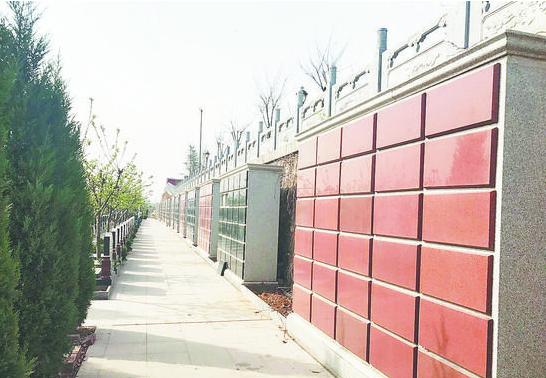 """""""鲜花换纸钱""""--淄博市殡仪馆、平山陵园开展绿色祭扫活动"""