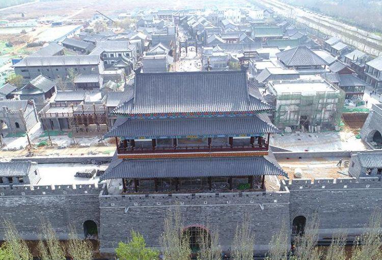 """济南""""最高城门楼""""亮相"""