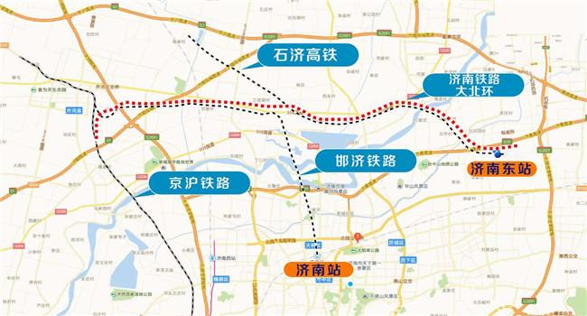 济南铁路大北环全面架梁 11月底全线开通