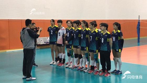以赛代练!山东青年男女排备战第二届全国青年运动会