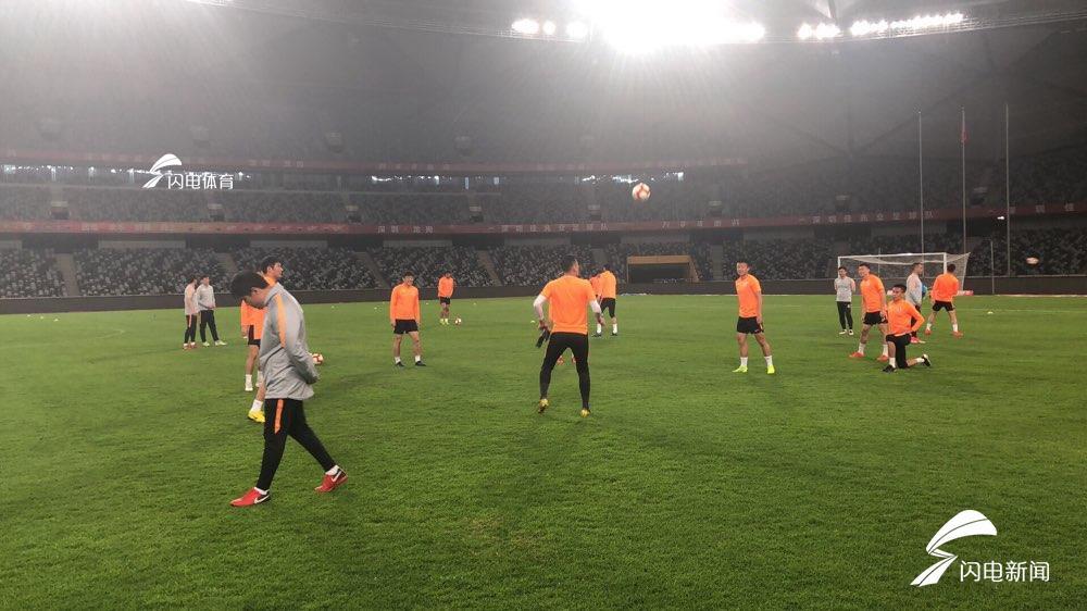 鲁能客战深圳首发出炉:费莱尼领衔格德斯无缘 U23两人首发