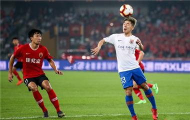 塞爾納斯遠射進球佩萊扳平 魯能客場1-1平深圳