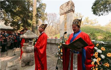 海內外孔子后裔在山東曲阜舉行清明家祭