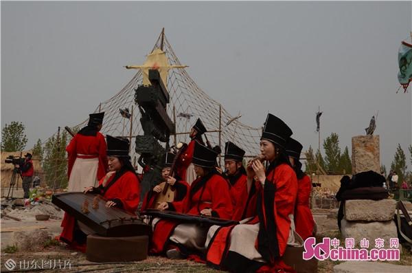 已亥年伏羲女娲祭祀大典在山东邹城举行