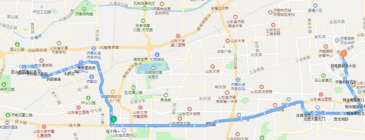 匡山到高新区方便了!济南定制公交S311明天开通