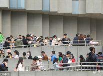 只为看一眼埃及文物 省博游客排队上百米