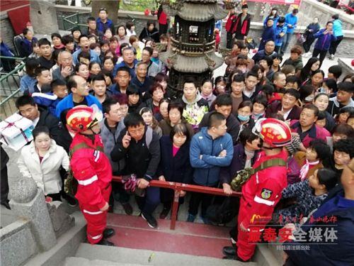 泰山管委消防队多措并举保清明节安全