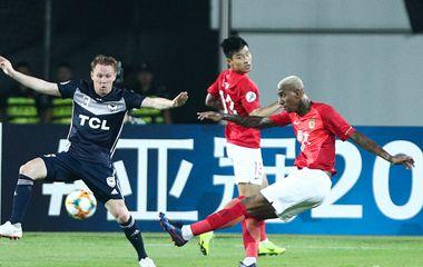 2019亚冠小组赛F组:塔利斯卡双响郜林独造三球 恒大4-0墨尔本